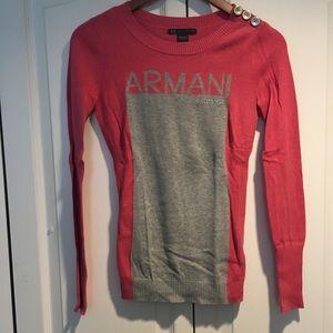 Armani Exchange Sweaters - Armani exchange women's pink sweater XS